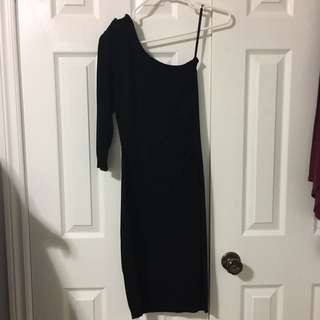 One Shoulder Dress Small