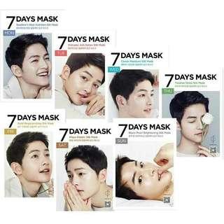 Song Joong Ki 7 Days Mask!