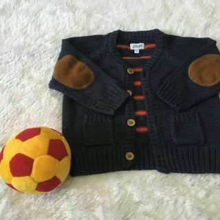 Sweater Bows & Arrows 6-9M