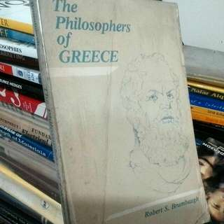 The Philosophers of Greece