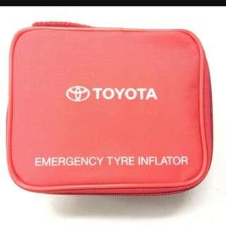 Toyota Emergency Tyre Inflator