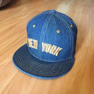 New Era 牛仔布 Cap帽