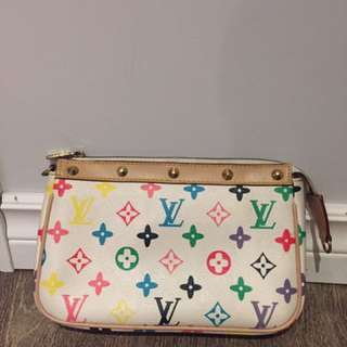 LV makeup bag