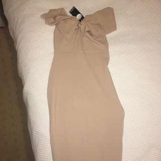 Nude Tight Dress