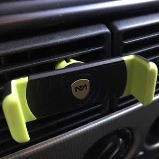 Car Vent Mount for Smartphones (Green)