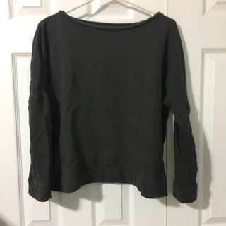 Oak and Fort Olive Sweater