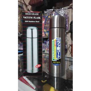 Termos stainless steel Flask 0,5L High Grade Vacuum Flask Thermos murah