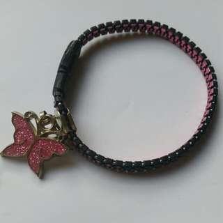 Zip Butterfly Bracelet
