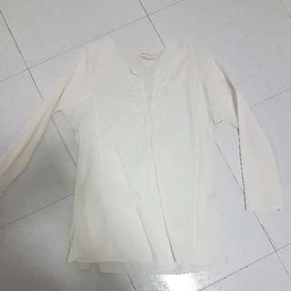 DKNY Blouse (White)