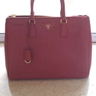 PRADA Saffiano 2012 Red