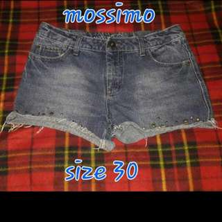 Branded Denim Short