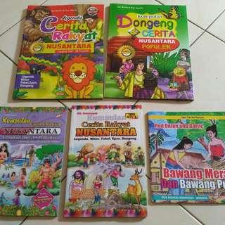 Buku Dongeng Nusantara