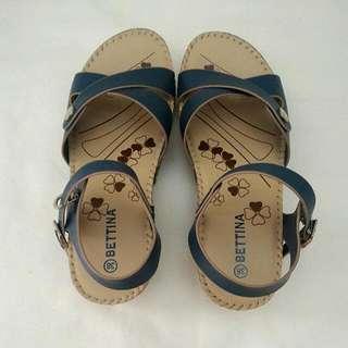 Sepatu Sendal Import Biru