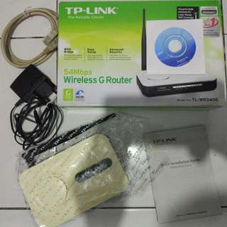 Wireless G Router TP Link-WR340G