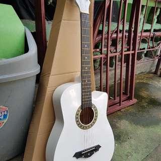 Cloud ACOUSTIC Guitar White