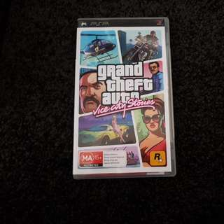 Psp2 Game Grand Theft Auto Vice City