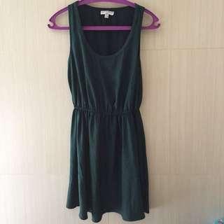 Cotton On Dark Green Dress