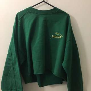 Crop Jaguar Jumper