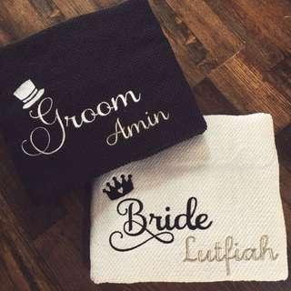 Personalised Couple Towel Set