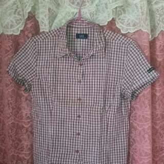 Lee Checkered Blouse