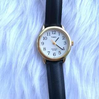 Preloved Authentic Timex Leather Watch