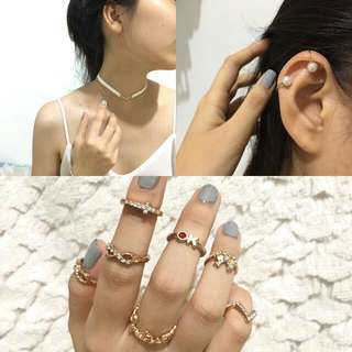 Anting Cincin Choker Murah