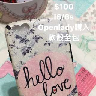 Open lady iPhone 6/6s手機殼