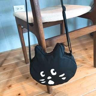 mina女孩日本代購 ne net 貓咪 斜背款 小包 日本 nenet
