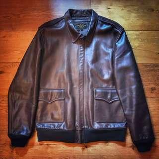 AVIREX A-2 Leather Jacket ( RRL,The Real Mccoys,Toys Mccoy,Buzz Rickson)