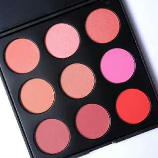 Morphe BNIB 9b Blush Palette