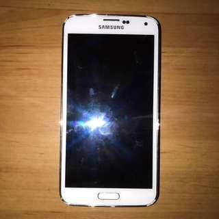 Samsung S5 White