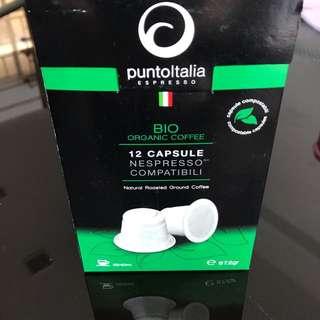 Nespresso Compatible Bio Organic Coffee Capsules