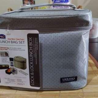 Lock & Lock Lunch Box Set