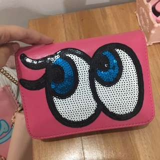 Play No More Pink Party Clutch