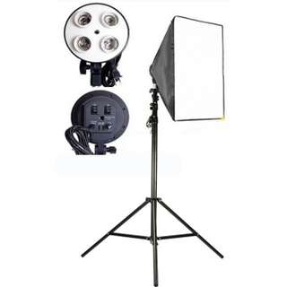 Easy softbox with for 4 Socket for Photobooth