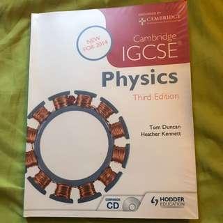 全新💯IGCSE Physics課本