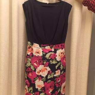 M Size Of Fashion Dress