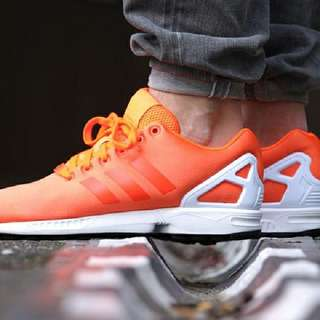 Looking For Adidas ZX Flux Orange/ White