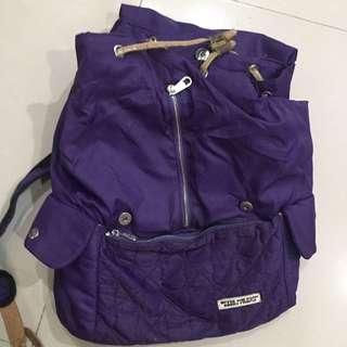 Dark Purple Backpack