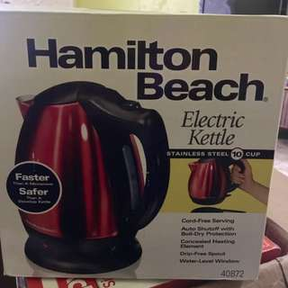 Hamilton Electric Kettle (REPRICED)