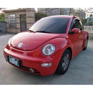 2003年 福斯 VW 金龜車 New Beetle / 紅