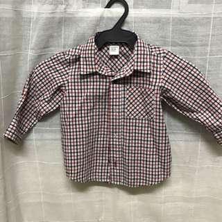 Checkered Polo Long Sleeve