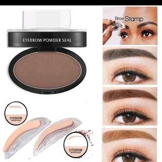 Eyebrow Stamp Black N Brown