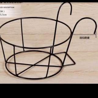 Flower Pot Hanger (wrought Iron)