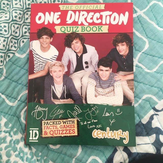 1D Quiz Book