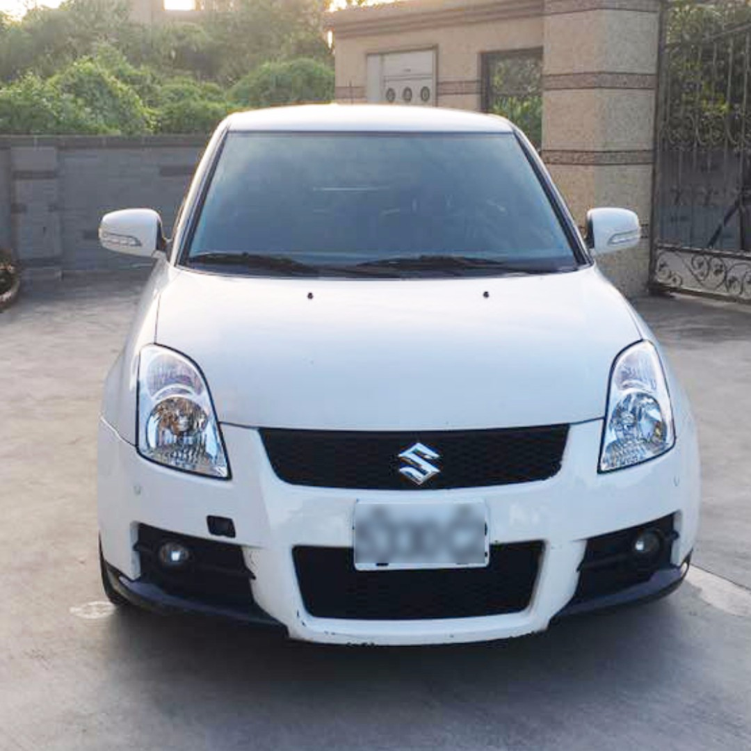 2008 SUZUKI / Swift 白色 T3包