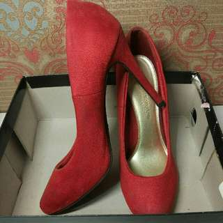 Christian Siriano For Payless Red Heels
