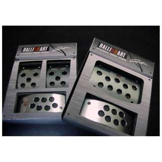 Ralliart Car Pedal Manual/Auto