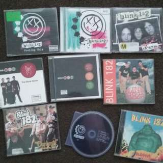Blink-182 CD Collection