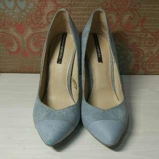 Pull&Bear Blue Heels